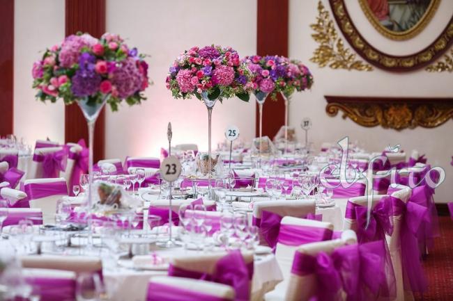 Оформление зала ресторана вместимостью до 250 человек